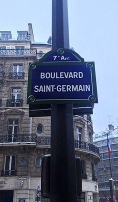 Paris est une Fête! — Boulevard Saint-Germain, Paris 7e.