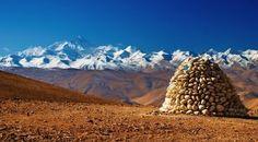 China - Tibet Landschaft