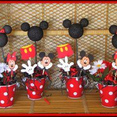 Mickey DIY centerpiece