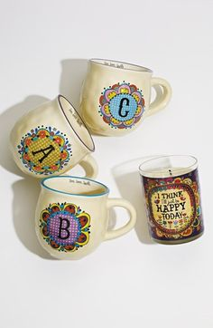 fun, colorful monogrammed mugs http://rstyle.me/n/tzwvzr9te