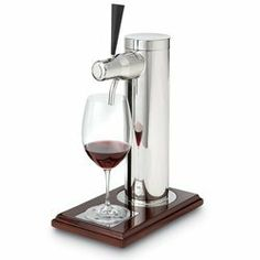 The Wine Tap . $19.05. Be the first on your block to pour by the measure right from the tap with these great new products. From wine to wine coolers, Sangria to your favorite single malt scotch, they've never tasted so good. Made from easy to clean stainless steel. The Wine Tap holds one liter. Perfect for your bar or game room.