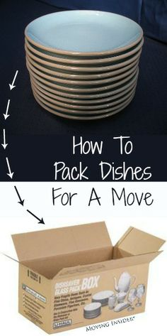 You're moving, and you're worried your fragile items, like dishes, will break. They wont if you follow our #tips!