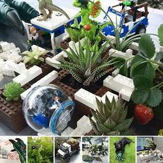 Planting a Jurassic Idea with NOTLabs and Roland Milling Technology Lego Jurassic World Dinosaurs, Lego Jurassic Park, Lego Dinosaur, Spiderman, Classroom Projects, Prehistoric Creatures, Garden Plants, Table Decorations, Diy