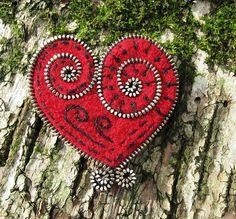 zippered heart #zipper #heart