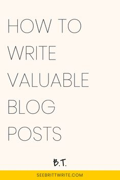Want to one-up your blogging competition? Easy: Learn how to write a blog post that is so useful to your readers, they feel compelled to share it with everyone they know. Here are 8 ways to do just that.