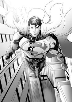 I'm here Bruce - Batman v Superman - by Moislopez on DeviantArt Marvel Dc, Action Comics 1, Univers Dc, Superman Man Of Steel, Dc Comics Characters, Comics Universe, Comic Artist, Comic Character, Man Of Steel