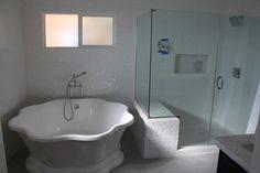 Home Remodel Progress: Bathrooms: Round Tub