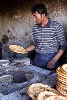 Well-made bread makes the baker proud - Tashkurgan, Xinjiang, China, 2011 © Woods
