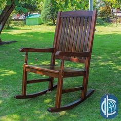 Porch Seat Rocker Wooden Garden Swing Back Seat Patio Wood Bench Rocking Chair for sale online Porch Chairs, Wicker Chairs, Garden Chairs, Room Chairs, Wooden Rocking Chairs, Patio Rocking Chairs, Farmhouse Outdoor Rocking Chairs, Traditional Porch, Wooden Patios