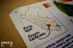 """Detalle de Mapa sobre Minería en Apurímac """"El Apu rímac en Quechua"""""""