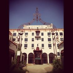 Abandoned Hotel in Oroville, CA (love the iron work) by @michellewjones on Instagram