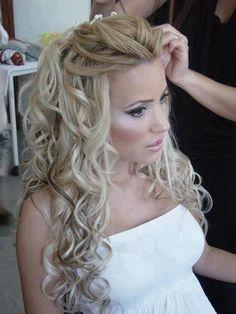 I want....pretty curls