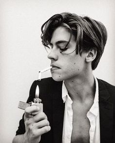 """Cole Sprouse """"Support the local upstart cigarette companies and smoke! Your president does it so how bad could it really be?"""""""