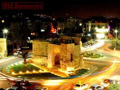 Bab Toma .. Damascus ... one of the seven door of Syria