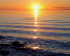 door county sunsets