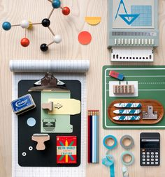 A few of our favourite things, for design mag Bureau.