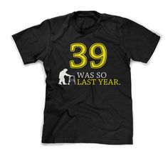 Over the Hill sucks! Funny 40th birthday t-shirt for guys. $15.99 http://ibeebz.com