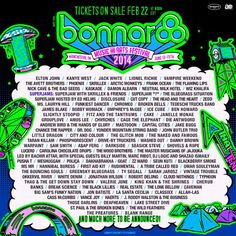 Bonnaroo Music and Arts Festival 2014 Lineup, Tickets | June 12-15 | Great Stage Park | Manchester, Tennessee