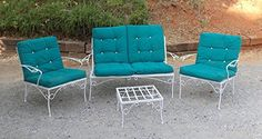Mid Century Modern Patio Furniture White Chairs * You can find more details by visiting the image link.
