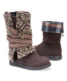 Look what I found on #zulily! Brown Nikki Boot - Women #zulilyfinds-$39.99