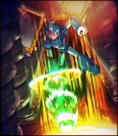 "megaman-x-unit49: "" Shattered Shine Begin reading Mega Man X: Unit 49: List of all chapters """