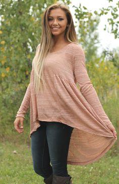 Boutique fav. Hi-Low rust hooded dress. $49 www.poshnovi.com