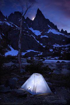 ✯ Clyde Minaret and Tent - Eastern Sierra :: Steve Sieren Photography ✯
