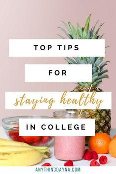 The tops tips for maintaining a healthy lifestyle in college! How to maintain ph… The top tips for a healthy lifestyle in school! How to maintain your physical, mental and social health during your studies. Wellness Tips, Health And Wellness, Health Fitness, Healthy Lifestyle Tips, Healthy Habits, Lifestyle Group, College Meals, College Tips, College Essentials