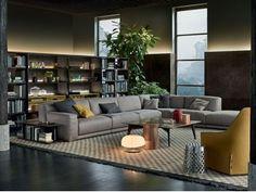Canapé d'angle composable en tissu PARIS-SEOUL | Canapé d'angle