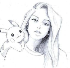 51 New Ideas For Drawing People Sketches Illustration Beautiful Pencil Art Drawings, Art Drawings Sketches, Disney Drawings, Cute Drawings, Animal Drawings, Drawing Drawing, Drawing Ideas, Sketches Of People, Drawing People