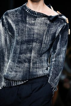 Bottega Veneta S/S 2015 Menswear -well I'd wear it!