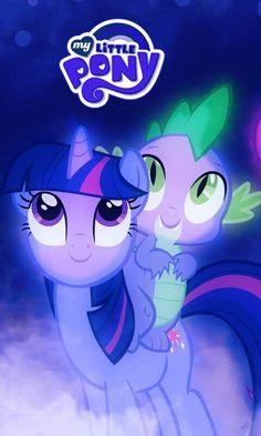 I love Twilight Sparkle and Spike!