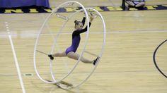 World Championships in Gymwheel 2016 Nora Dery Spiral 6th Place