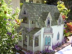 Dollhouses by Robin Carey...The Vineyard Cottage