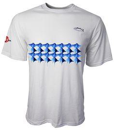 Rays Tennis Tee Short Sleeves Colors: Light Aqua, Light Grey Sizes: S - 2XL