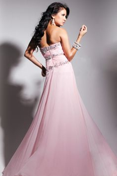 Perfect Prom Dress Sweetheart A Line Beaded And Ruffled With Slit
