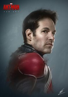 Ant-Man Fan Art portrait by Carl Ellis