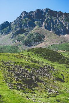 The French Pyrenees: La Mongie