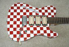 checkerboard guitar - Google Search