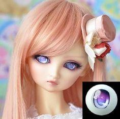 Kawaii Anime eyes for a doll