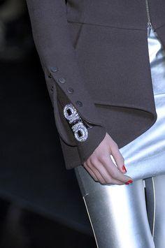 Karl Lagerfeld at the Paris Fashion Week Fall . Karl Lagerfeld at t Fashion Tag, Abaya Fashion, Fashion Details, Runway Fashion, Fashion Outfits, Womens Fashion, Fashion Design, Fashion Rings, Karl Lagerfeld