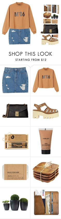 """Без названия #85"" by sinyukovayulya ❤ liked on Polyvore featuring Monki, Calvin Klein, Windsor Smith, Brika, Inglot, Le Labo, Be Home and CO"