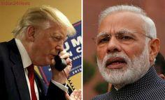 US President Donald Trump to Speak With 'Friend' PM Modi Tonight