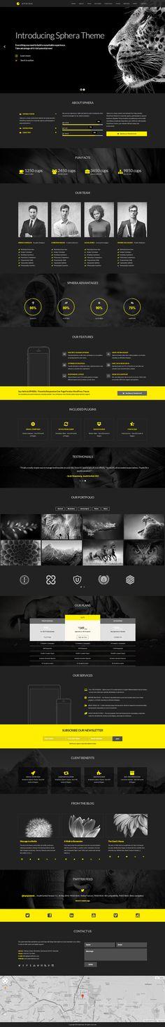 Sphera One Page Parallax WordPress Theme  Webdesign aus der Schweiz. Jetzt kostenlos für eine Offerte anfragen http://www.swisswebwork.ch/ Deine Web und Marketing Agentur aus Luzern.