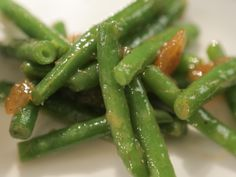 Mango Chutney Green Beans recipe from Southern at Heart via Food Network