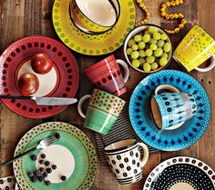 South African inspired colours and patterns from West Elm!
