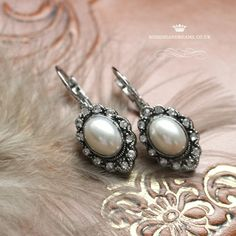 Props and Accesories - Bohemian Dreams Wedding Stationery, Wedding Invitations, Pearl Earrings, Bohemian, Victorian, Dreams, Jewels, Stuff To Buy, Pearl Studs