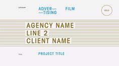 ADCN | Winner announcements on Vimeo