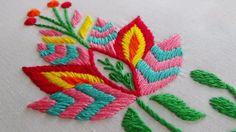 Hand Embroidery: Phulkari Stitch Variation