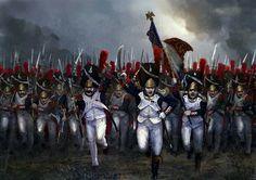 Assalto della vecchia guardia francese
